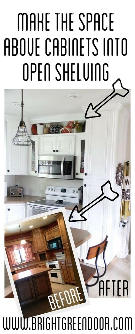 how to build open cabinets how to build open shelving above cabinets for custom look