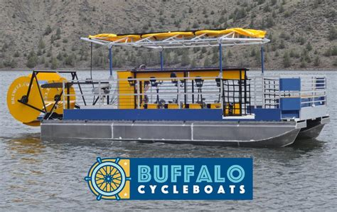 Buffalo Cycle Boats by Buffalo Just Got 100x Cooler Thanks To Buffalo Cycleboats