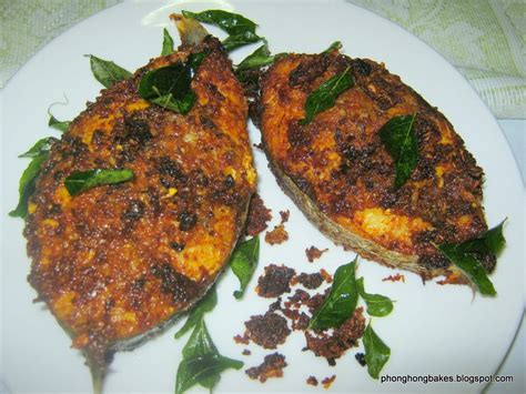 phong hong bakes  cooks indian style fried fish aff
