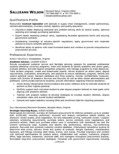 contract specialist resume sample vvengelbertnl