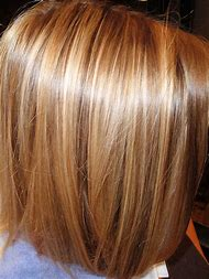 Golden Blonde Hair with Highlights and Lowlights