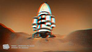 VSSEC Mission to Mars Stereoscopic 3D animation | thelode ...