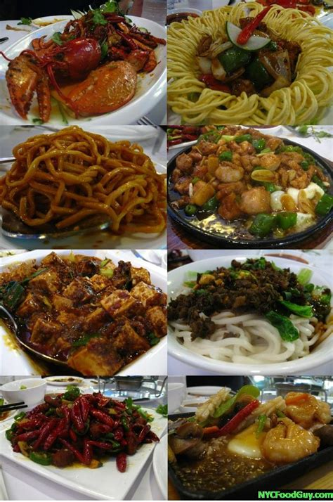 cuisine restaurant 13 dish introduction to szechuan at lan sheng szechuan