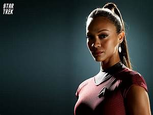 Zoe Saldana as Uhura in Star Trek Wallpapers | HD ...