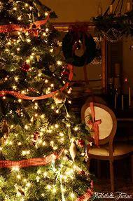 Christmas Night Living Room