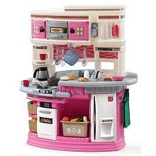 step lifestyle legacy kitchen set pink step
