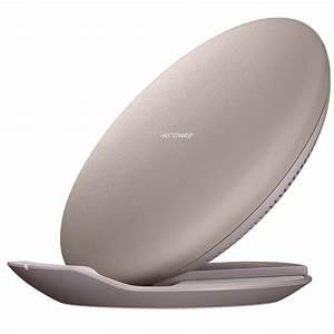 Chargeur Induction S8 : samsung pad induction 2 positions marron chargeur ~ Melissatoandfro.com Idées de Décoration