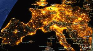 Carte France Pollution : avex s map light pollution of europe les dossiers avex ~ Medecine-chirurgie-esthetiques.com Avis de Voitures