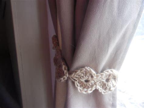 crochet curtain tiebacks chapstick goddess