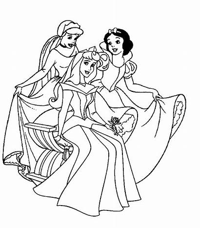 Disney Princesses Fun Coloring Pages