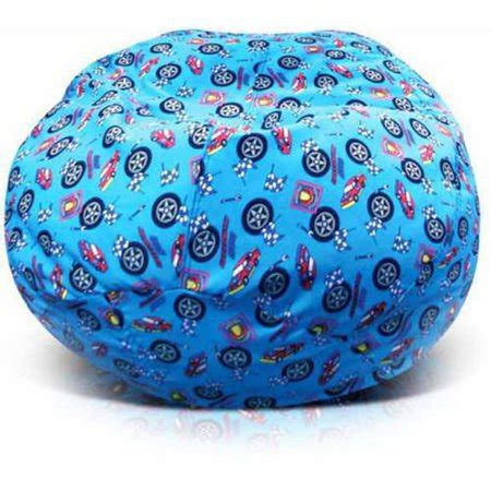 junior print collection bean bag chair race car walmartcom