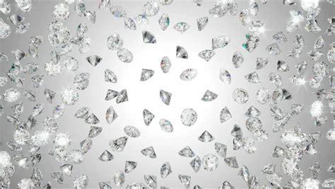 4k Falling Diamonds Gems Wealth Background,broken Glass