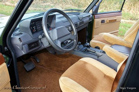 vintage range rover interior range rover classic 1988 details