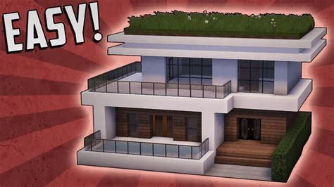 Modernes Haus Minecraft Klein by Minecraft How To Build A Small Modern House Tutorial 15