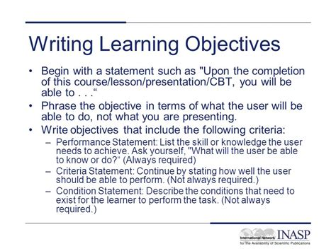 Developing And Writing Learning Objectives  Ppt Download. Resume Template For Teenager First Job. Resume Builders Online. Best Resume Format For Engineering Students. Linked In Resume Builder. Housekeeping Duties And Responsibilities Resume. Grad School Resume Template. Stocker Resume Sample. Sample Resume For Computer Science Graduate
