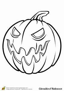 Citrouille Halloween Dessin : coloriage citrouille halloween mechante color me ~ Melissatoandfro.com Idées de Décoration