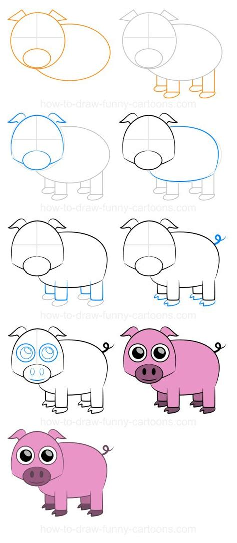 step  step drawing lessons animals complete drawing