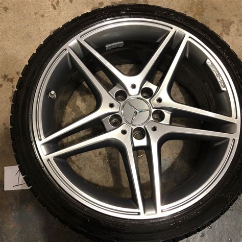 The full name of the development is mercedes original do you need special rims for run flat tires? W204 Mercedes Benz Wheels AMG & Blizzak LM60 Run Flat Winter Tires 235/40/18 - MBWorld.org Forums
