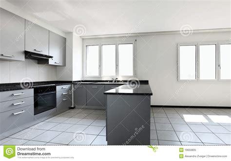 cuisine appartement appartement neuf cuisine vide photo libre de droits