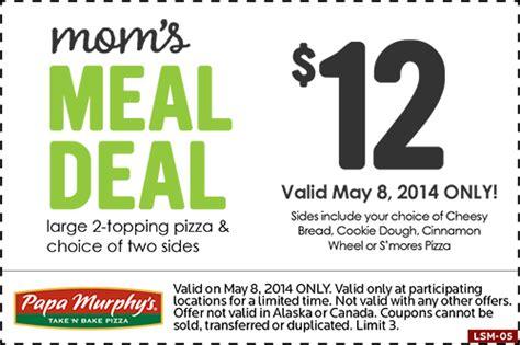 papa murphy s mom s meal deal