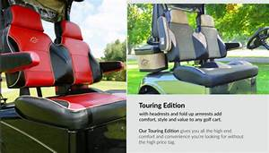 Club Car Precedent Golf Cart Custom Touring Seat Cushion