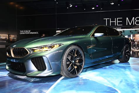 Hot Bmw M8 Gran Coupe Concept Revealed At Geneva Motor