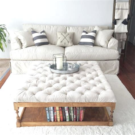 Surely, the idea of having an ottoman coffee table may not occur in your mind. 15 Large Coffee Tables For Your XL Living Room