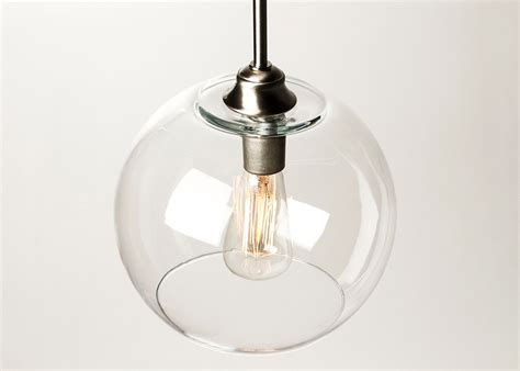 pendant light fixture edison bulb large globe by dancordero