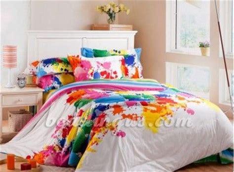 Splatter Paint Bedroom by Paint Splatter Bedding Set Bedding Comforter Set