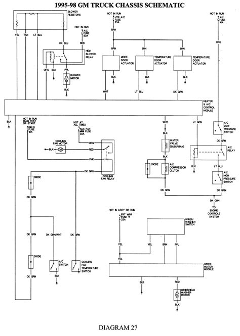 1995 Chevrolet K1500 Wiring Diagram by 1995 Chevrolet K1500 Wiring Diagram Wiring Diagrams List