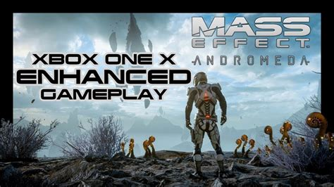 Mass Effect Andromeda Xbox One X Enhanced Gameplay Youtube
