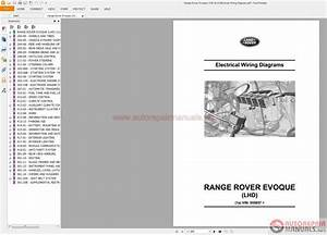 Range Rover Evoque L538 2015 Electrical Wiring Diagram