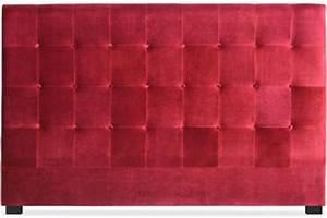 Tete De Lit 180 Cm : t te de lit capitonn e 180 cm velours rouge paca t te de lit pas cher ~ Teatrodelosmanantiales.com Idées de Décoration