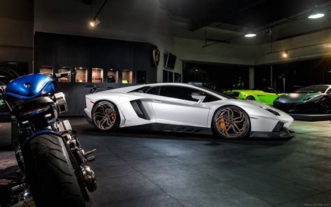 Lamborghini And Bike, Hd Cars, 4k Wallpapers, Images