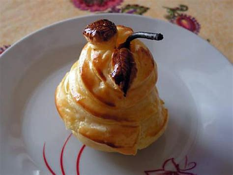 recette de poires fondantes en robe croustillante