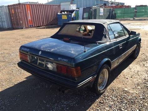 how do i learn about cars 1987 maserati biturbo on board diagnostic system maserati spyder convertible 1987 blue for sale zamfl1106ha330832 1987 maserati zagato biturbo
