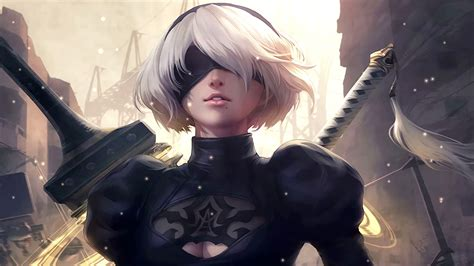 Nier Automata Animated Wallpaper - nier automata animated wallpaper
