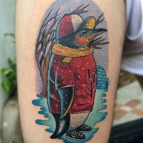 Small Matching Tattoos Couples penguin tattoo designs meanings northern 750 x 750 · jpeg