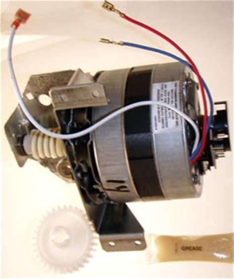 craftsman  hr power garage door opener motor problem