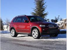 BMW X5 in Vermillion Red color an X6 color