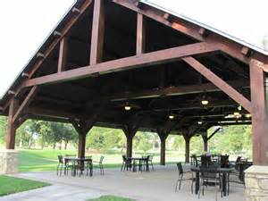 Timber Frame Pavilion Floor Plan For