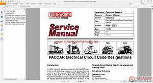 Free Auto Repair Manual   Kenworth Truck Service Manual  Owner Manual  Diagram All