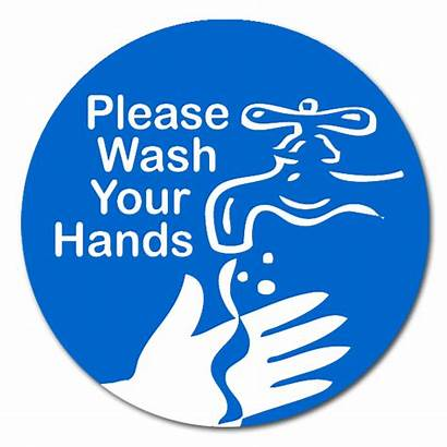 Wash Hands Please Clip Hand Washing Sign