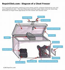 Refrigerators Parts  Freezer Repair