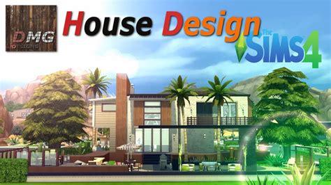 sims  house design  modern tropicana youtube