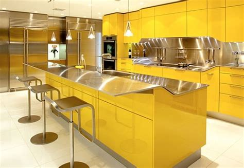 and yellow kitchen ideas yellow kitchen design ideas home design garden