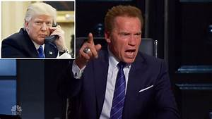 Donald Trump Says Arnold Schwarzenegger 39Did A Really Bad