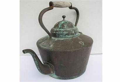 Copper French Kettle Patinated