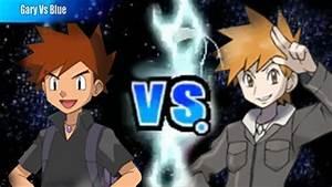 Pokemon Black and White 2 Wifi Battle - Gary Vs Blue - YouTube