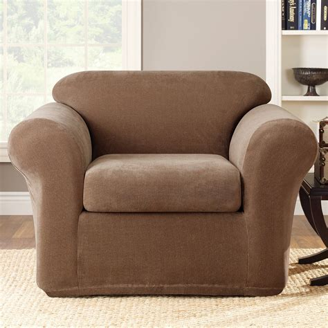 sure fit chair slipcovers sure fit slipcovers stretch metro chair slipcover 2 pc